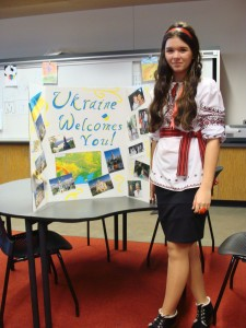 Presenting on Ukraine in the US.