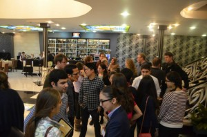 Alumni also gathered at the second Peace Corps and US Embassy-organized alumni networking reception in Azerbaijan.