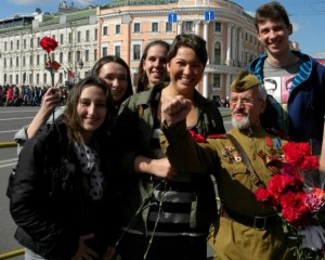 "Faces of FLEX Alumni Choice Award winner picture ""Victory Day' by Alexey Philippov"