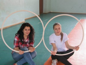 Hasmik Tonapetyan (CR of Gyumri) and Lusine Snkhchyan (CR of Vanadzor)