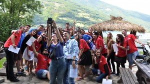 Alumni organized Regional Summer Camp Human Rights Are Your Rights Connecting Generations Connecting Communities