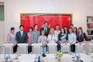 Alumni visit Parliament and meet with Speaker of the Parliament, Montenegro