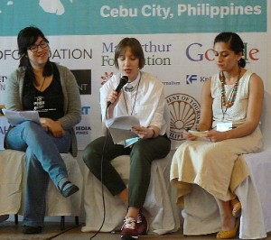 sm Panel on social movements and social media at 2015 Citizen Media Summit in Cebu, Philippines