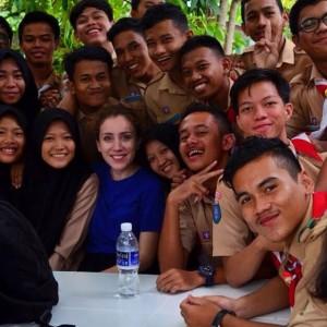 My students at SMA 2 tanjungpinang high school