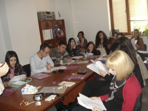 Nune  Harutyunyan - Introducing the handouts, Yerevan Session, 21 Nov, Nune Harutyunyan