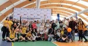 Aizhan Kapysheva - FLEX Alumna GYSD KAPYSHEVA '10 streetball tournament group picture