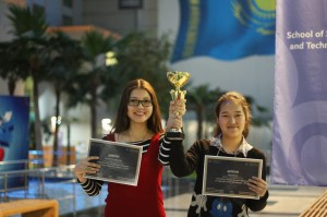 Gulnaz Tabynbayeva - Novice Pathway winners of the tournament