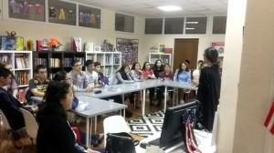 Kaisar Sultan - FLEX Alumni Kaliyeva Gulden '15 talking about the FLEX program and her exchange year experience