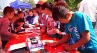 Project Organizer: Altynai Klimova '14 Event Location: Karakol, Balykchy and Bishkek $ 499 in FLEX Alumni Grant Funding $ 5000 cost share from: Bayalinov Library for Youth and Children, American […]