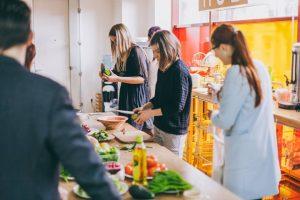 Mariia Donets - FLEX Alumni GYSD DONETS'15 cooking healthy food