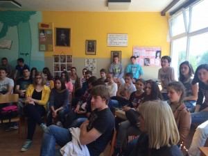 Milica Jovanovic - The students listening to the lecture