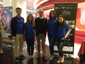 Volunteering at the European Movie Screenings