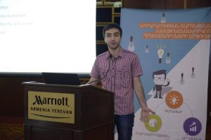 Shahen presenting Triip