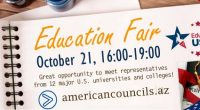 Education USA Advising Centers* in Armenia, Azerbaijan, Kazakhstan, Russia, and Ukraine held U.S. Higher Education Fairs this fall and FLEX alumni in these countries assisted with the events. Alumni translated […]