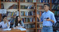 From January to May 2018, Selbi Veliyeva '16 (Mary, Turkmenistan/ Dinuba, CA) led the Toastmasters International Project at the Mary American Corner (MAC) in Turkmenistan. This was a collaborative effort […]